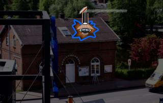 """Das Projekt """"Camera Obscura Stadea"""" in Stade"""
