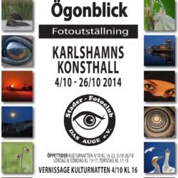 """Fotoausstellung """"Ögonblick"""" in unserer schwedischen Partnerstadt Karlshamn"""