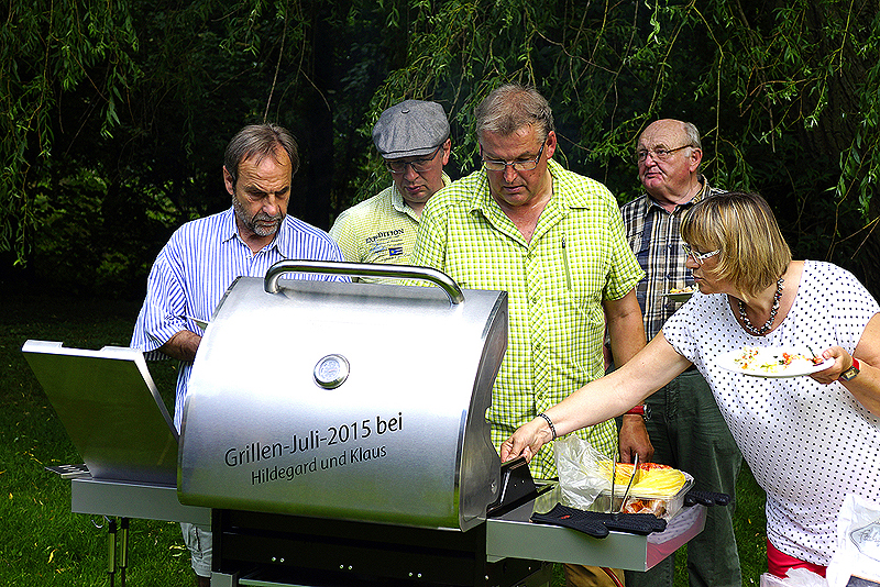 Unser traditionelles Grillfest 2016
