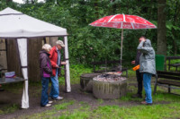 Regen - Regen - Regen, doch die Tradition geht vor. Unser Grillfest 2017 11