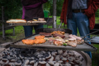 Regen - Regen - Regen, doch die Tradition geht vor. Unser Grillfest 2017 13