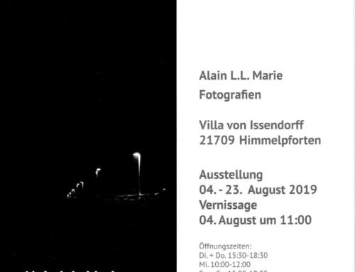 Ausstellung von Alain L.L. Marie in der Villa von Issendorff
